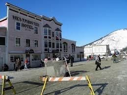 Thaw-Di-Gras Spring Carnival. Dawson City, Yukon.
