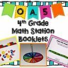 FREE – Hands-On Math Station Booklet – OA.5 {Patterns}
