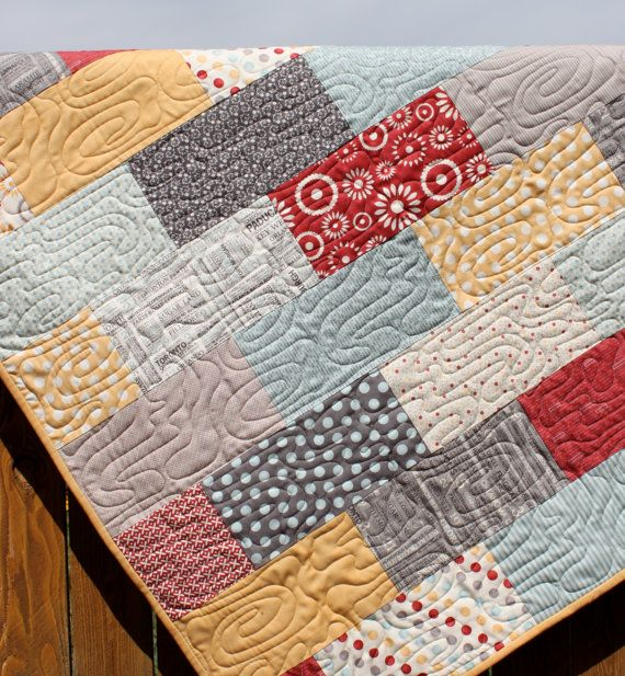 simple rectangles quilt