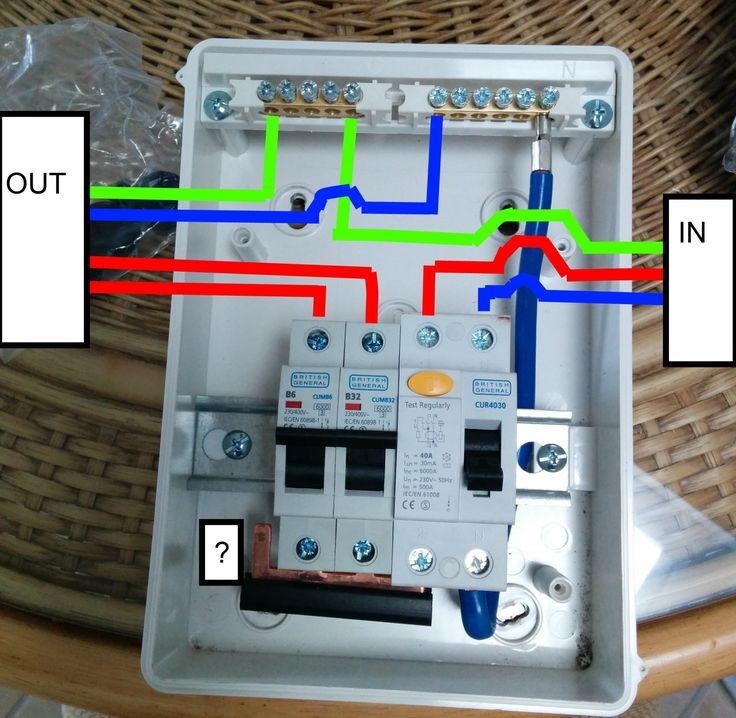 Wiring A Garage Consumer Unit