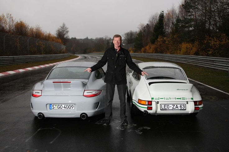 Two eras of Ducktails with Walter Rohrl