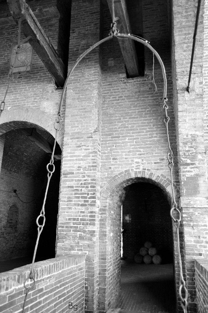 Castello (Ferrara), black and white - Barbara Gozzi©