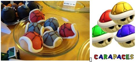 repas anniversaire enfant mario kart : carapaces pop cakes