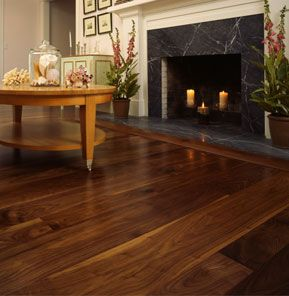 Walnut Hardwood Flooring | Walnut Hardwood Flooring | Wide Plank Floors - Heritage