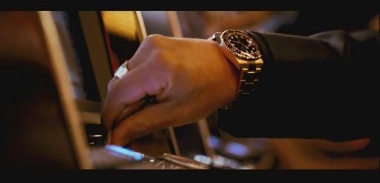 Ocean's 13 ROLEX GMT MASTER II CERAMIC WATCH #BradPitt #Rusty Ryan #Watch #ProductPlacement