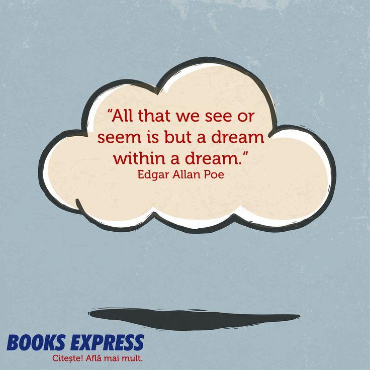 Citat Edgar Allan Poe #BEaDreamer