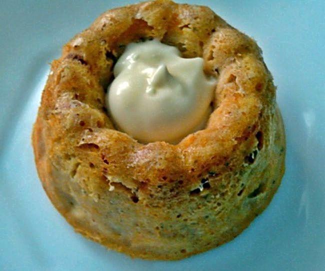 Pastel de merluza en el microondas, con receta.