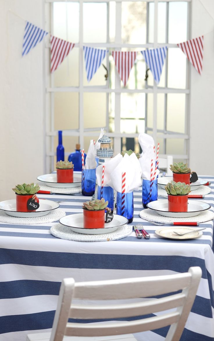 Living and Loving | A nautical baby shower theme