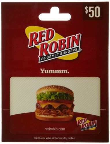 Red Robin Gift Card $50 - http://freebiefresh.com/red-robin-gift-card-50-review/