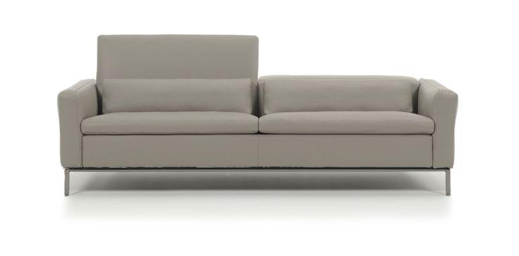 Orlando Il divano che si adatta alle tue esigenze di comfort, grazie allo schienale e ai braccioli reclinabili.