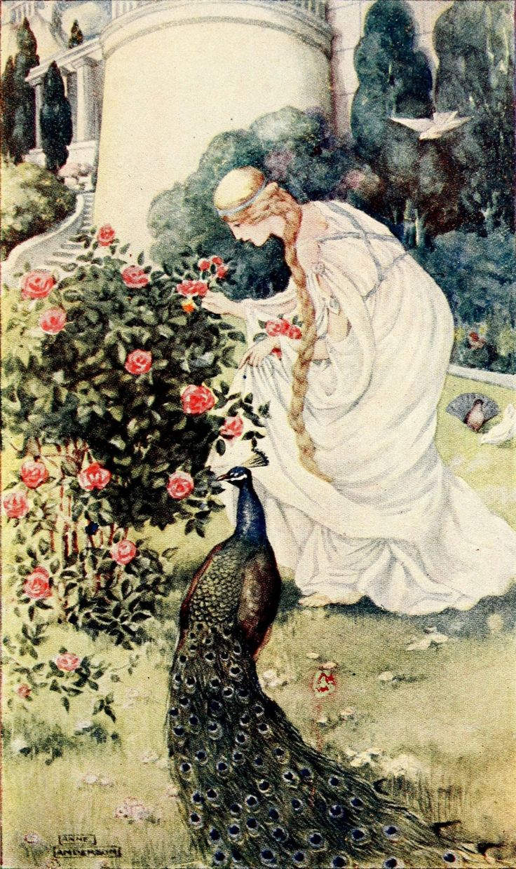 Anne Anderson ~ Emily ~ Stories from Chaucer ~ 1913 ~ via