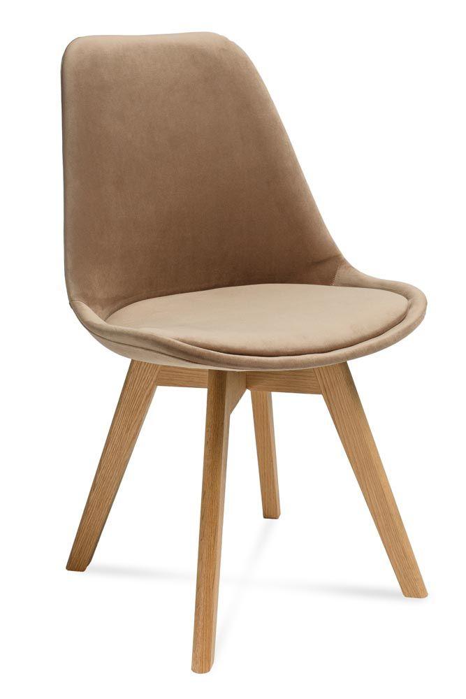 Scandinavian chair HUGO in velvet.  £ 70