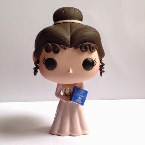 Jane Austen: Custom Funko Pop! Figure  We wants it! We needs it!