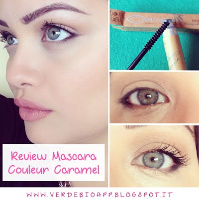 Review Mascara Couleur Caramel Allungante + mini video applicazione | È verde? - App sui Cosmetici BIO