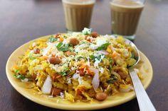 Dadpe Pohe Recipe (Maharashtrian Poha)