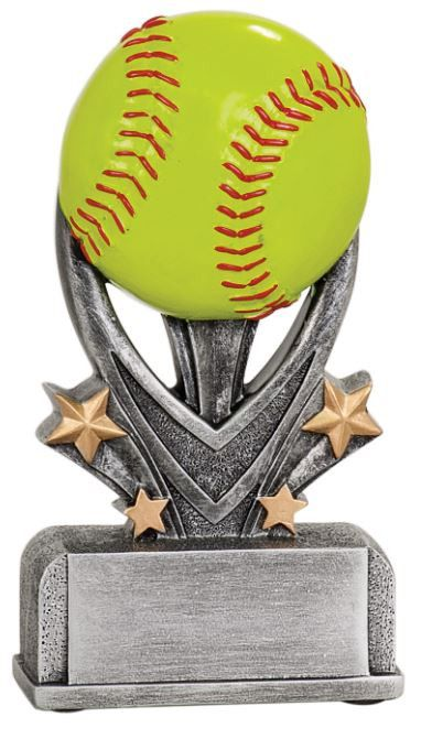 WHOLESALE Lot of 12 Softball Trophy Award $5.79 ea. FREE Shipping VSR107