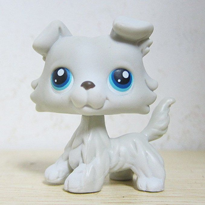 Good Luck Charm Lps Collection Lps 363 Grey White Collie Puppy