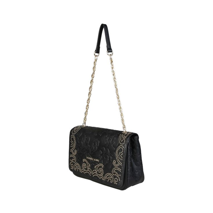 Versace Jeans – E1VPBBR6_75592 – Clutch synthetic leather bag has Shoulder strap, metal fastening, lined interior and a dust bag. Inside it, there are 3 compartments, 1 zip pocket and 2 inside pockets. It is of size: 30*18*10 cm.  https://fashiondose24.com