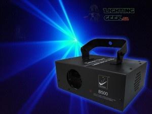 500mW Blue laser light! DMX laser for professional laser light show.
