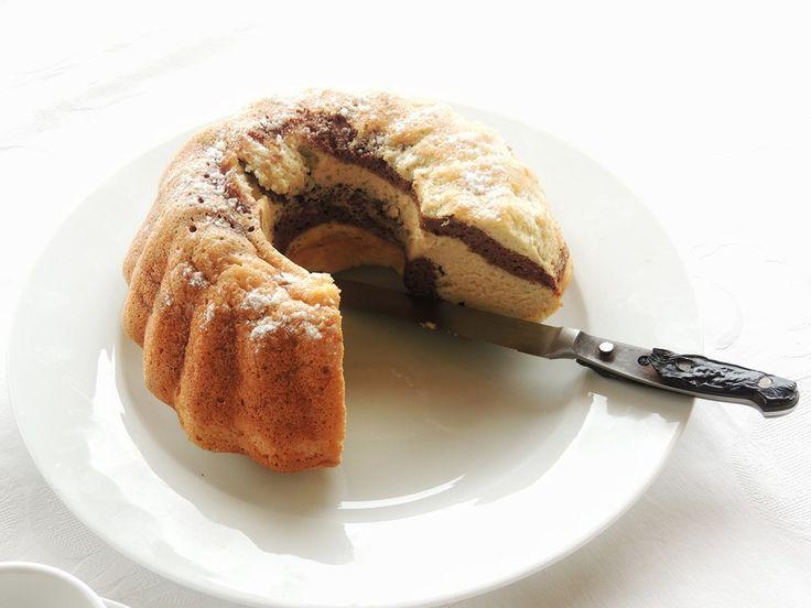Angel cake vaniglia e cacao | a modo mio