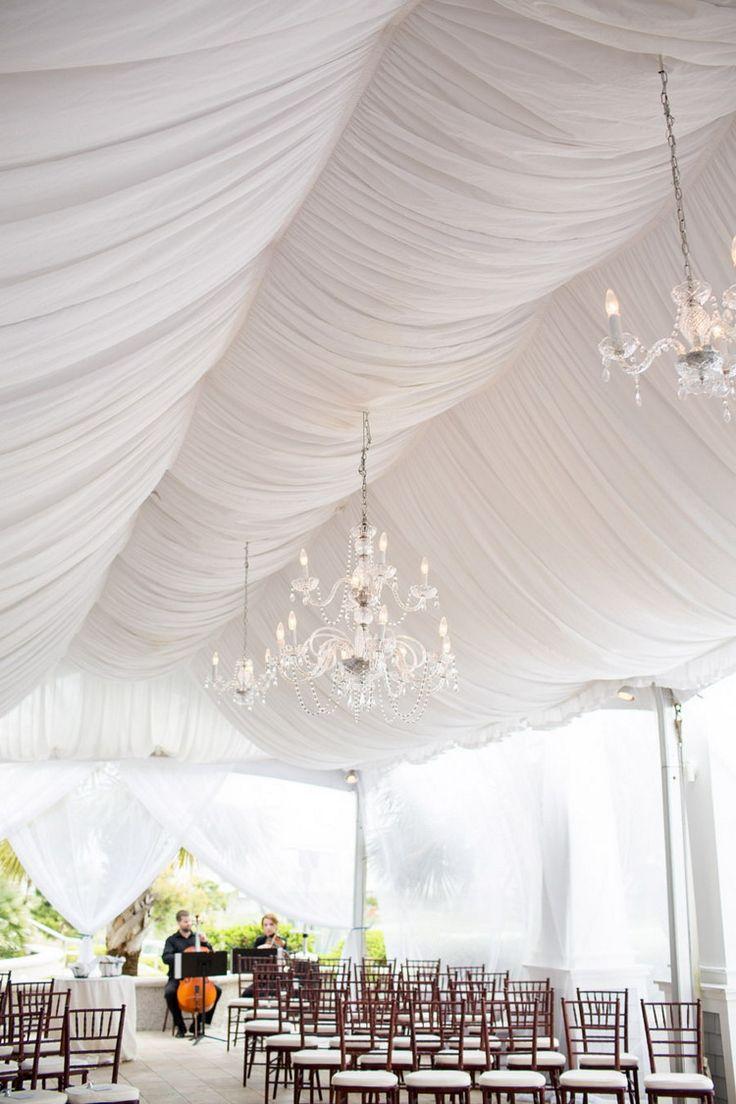 Marquee wedding ceremony