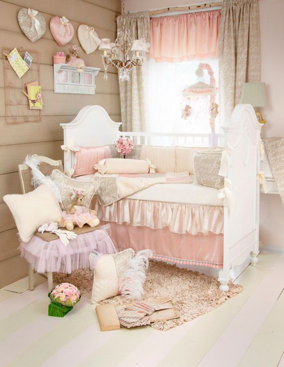 Glenna Jean Love Letters Crib Bedding Set