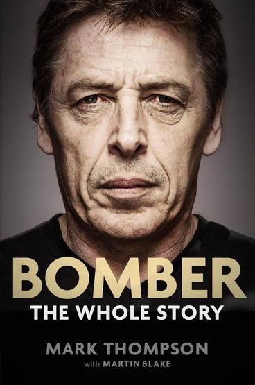 Bomber: the Whole Story by Mark Thompson.  Telling it as he sees it, this is a rare insight into one of football's most intriguing characters. Mark Thompson sets the record straight on a career that has had more than a few challenges and dramas in this candid, entertaining, opinionated story of the enigmatic coach who changed the game of AFL. Mark Thompson has had more than his fair share of challenges and dramas in his career.