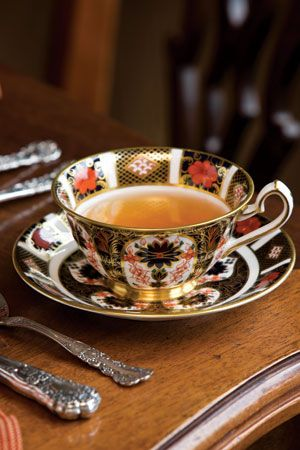 Find a lovely tea set, maybe an even missmatched set, and sitting down to tea 2 days a week.  No cell phones allowed. Just lively conversation