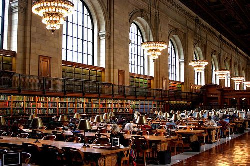 the New York public library--if only public toilets were this amazing