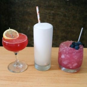 3 Red, White and Blue Drinks for the 4th of July
