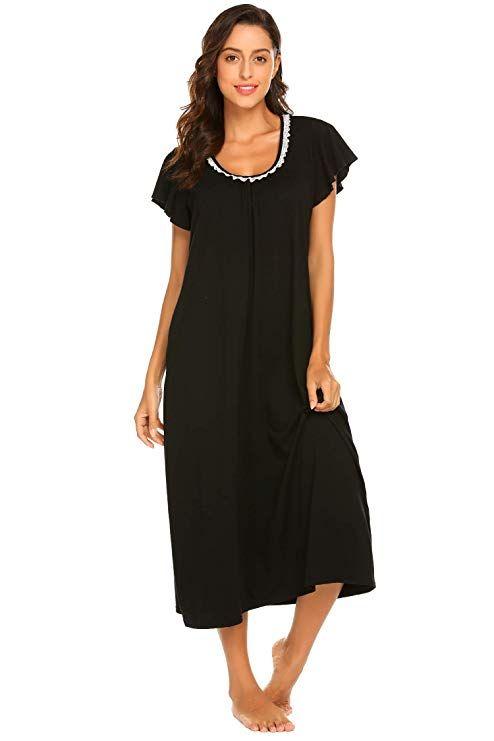 82d39d9947 Ekouaer Women s Cotton Fleece Hooded One Piece Pajama Union Jumpsuit ...