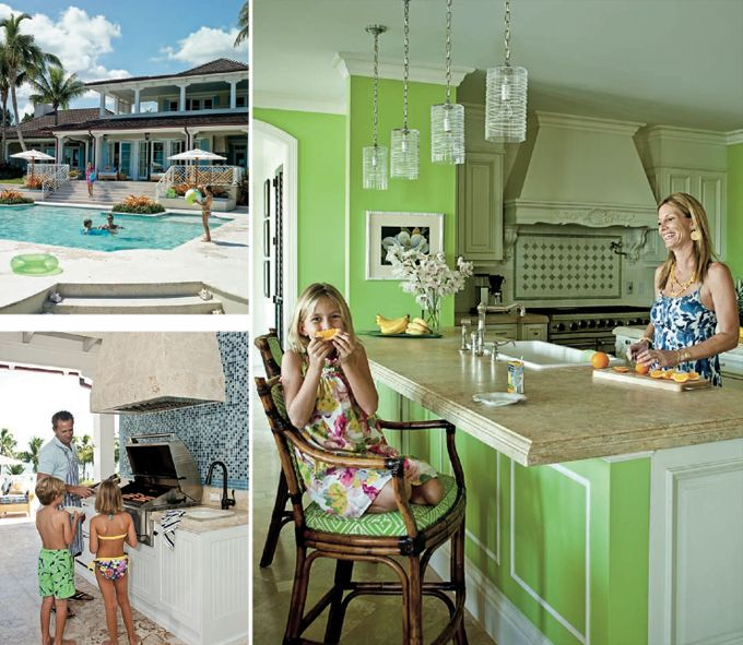 I have an apple green kitchen. It, umm, doesn't look anything like this.