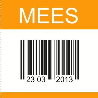 Geinig geboortekaartje barcode met geboortedatum is een kaartje met humor waarop een barcode met geboortedatum staat