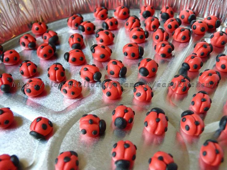 Coccinella in fimo o in pdz tutorial facilissimo|Easy Kitchen