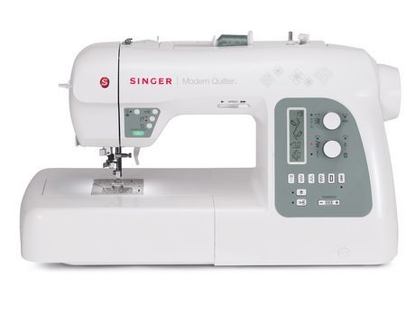 Singer 8500Q Modern Quilter Sewing Machine White | Sewing ...