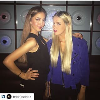 #Repost @monicanoz with @repostapp. ・・・ Yesterday night with the one and only @imrosacrespo