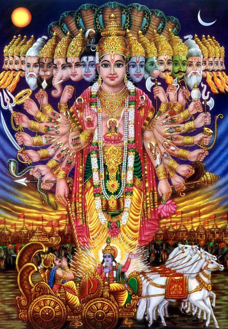 BHAGAVAD GITA {11 , 18} त्वमक्षरं परमं वेदितव्यंत्वमस्य विश्वस्य परं निधानम् ।  त्वमव्ययः शाश्वतधर्मगोप्ता सनातनस्त्वं पुरुषो मतो मे ॥  I believe You are the Supreme Being to be realized. You are the ultimate resort of the universe. You are the Spirit and protector of the eternal order (Dharma). (11.18)