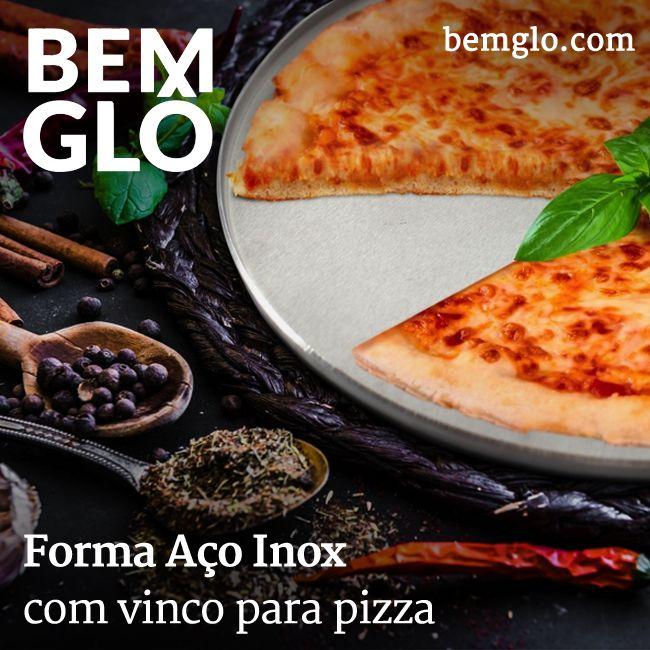 Forma perfeita para fazer aquela pizza do fim de semana! Já vem com vincos para ajudar na hora de cortar, além de ter boa duração e ser tudo de Bemglô :3  #bemglo #formadepizza #tudodebemglo