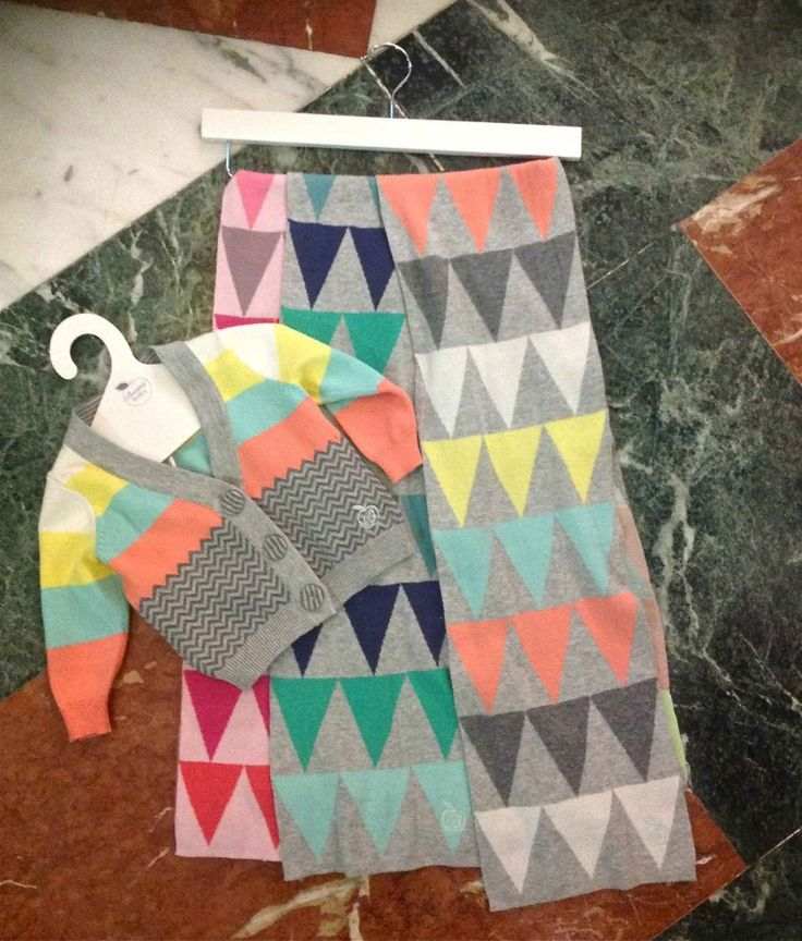 New diamond patterns at Bonnie Baby at the Hotel Roma for Brilliant Little Britain showing kidswear for fall/winter 2013