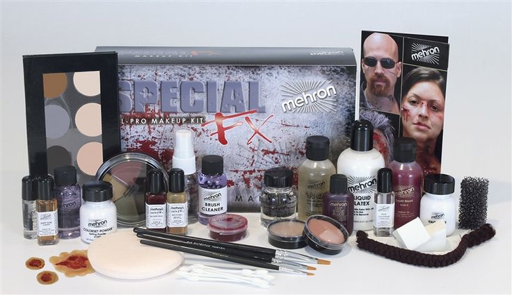Special Effects Zombie Makeup Kit by Mehron - Costumes Wigs Theater Makeup and Accessories