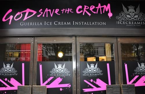 Selfridges ice cream, London 2009