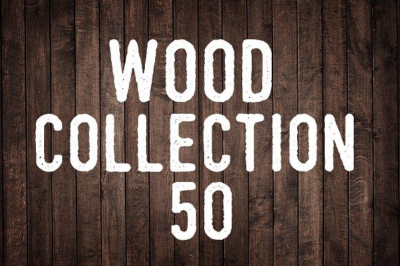 Wood Collection I by MaxDesign on @creativemarket