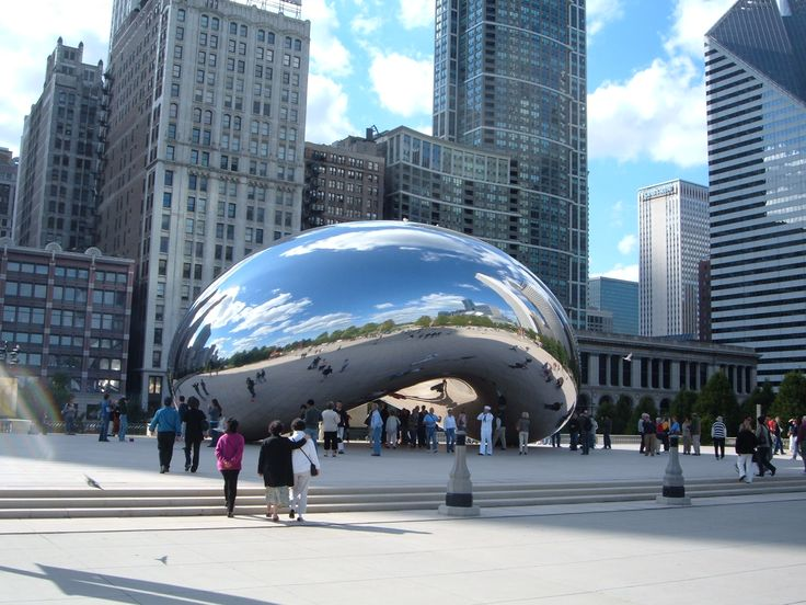 Frank Gehry's sculpture in Chicago, known as 'Cloud Gate'. A man who does his own thing, well. He did his own thing and I'm glad he did. What's 'your own thing'? and are you doing it right now?