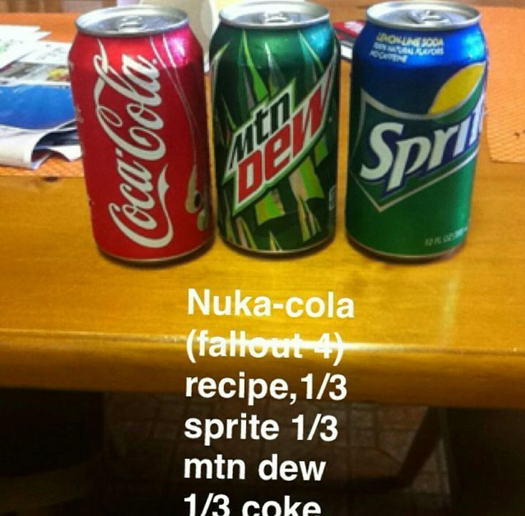 Nuka Cola recipe