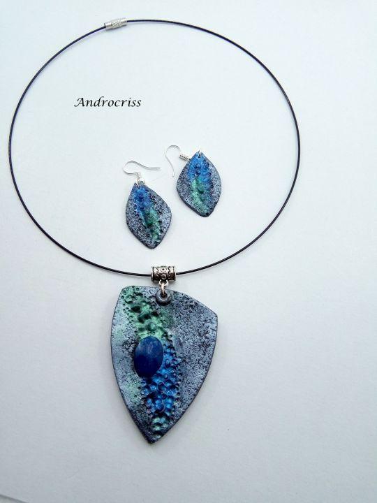 Set bijuterii din lut polimeric