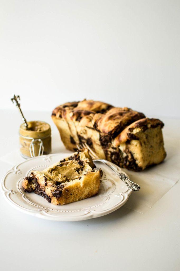 Chocolate and Hazelnut Pull-Apart Brioche | butter and brioche