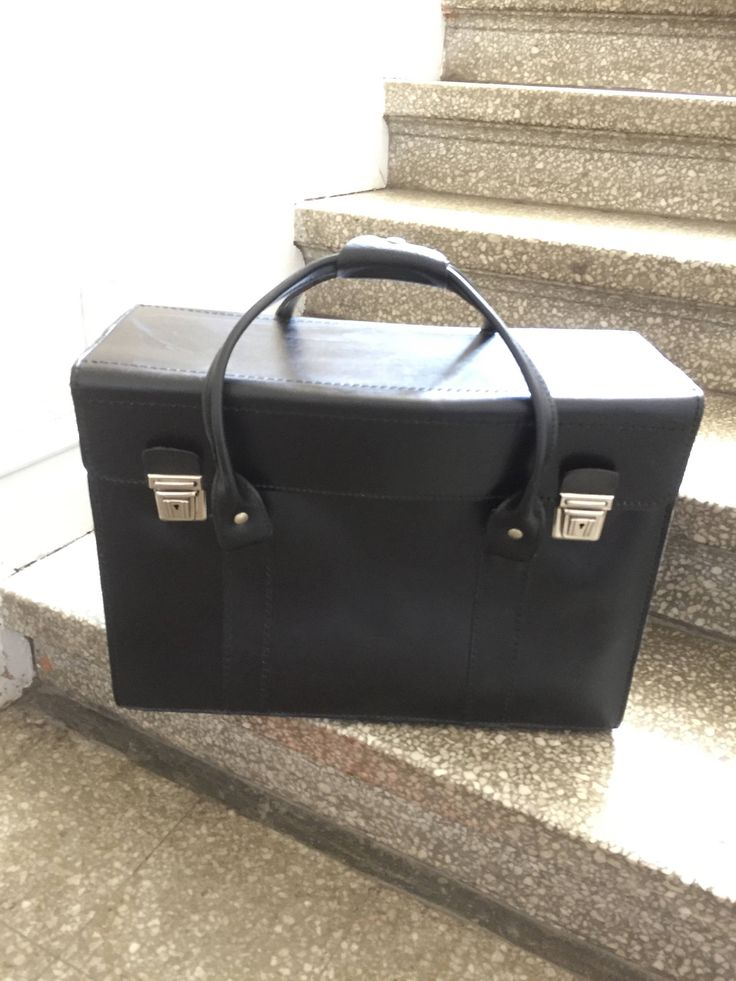 leather/attasche/valais/luggage/carryon/black by WifinpoofVintage on Etsy
