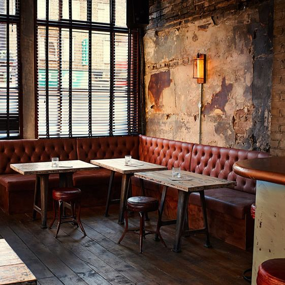 The Sun was built in 1851, and the weathered plasterwork still clinging to the walls here looks like it might be original – it's surely old enough to have seen the Krays pop in for a pint. The exterior tiles are certainly original, and the renovation work has in general tried to peel back some layers to reveal bits of the building's history...