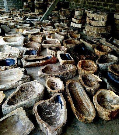 Fossil Wood Sinks