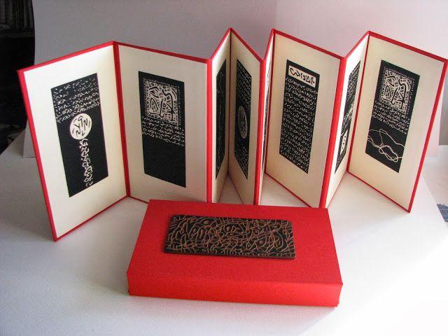 El silencio de las palabras de Gerard Brennel, libro de artista único en venta en Aedea Creadores.
